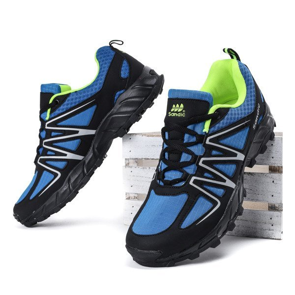 38881b0cb Niebiesko-czarne męskie buty sportowe Jonas - Obuwie