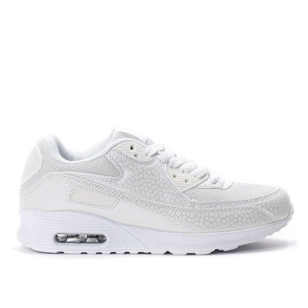 eab24567 Białe buty sportowe AIR - Obuwie - Biały | Royalfashion.pl - sklep z ...