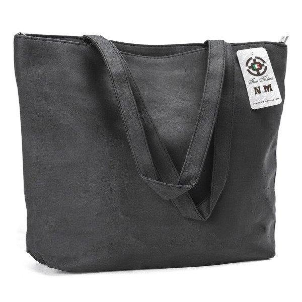42a2232941545 Czarna torba z tkaniny Paris - Torebki - | Royalfashion.pl - sklep z ...