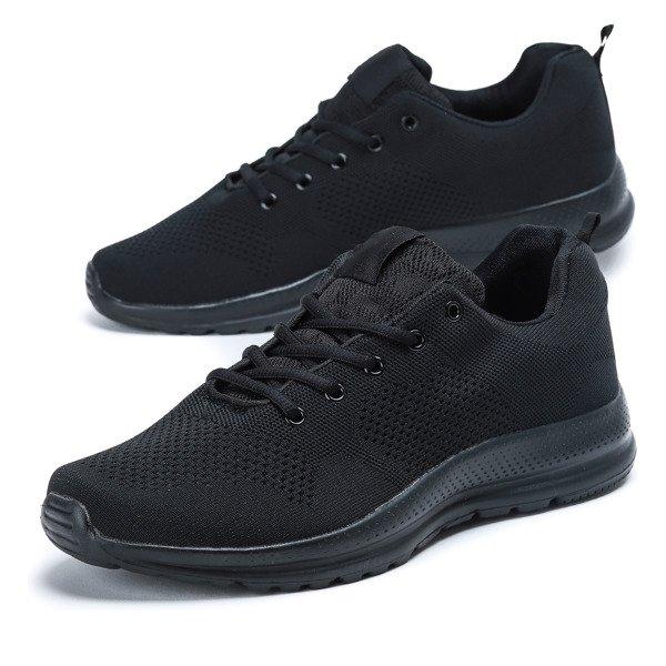 34c2074b Czarne, sportowe buty męskie Rymenien - Obuwie - | Royalfashion.pl ...