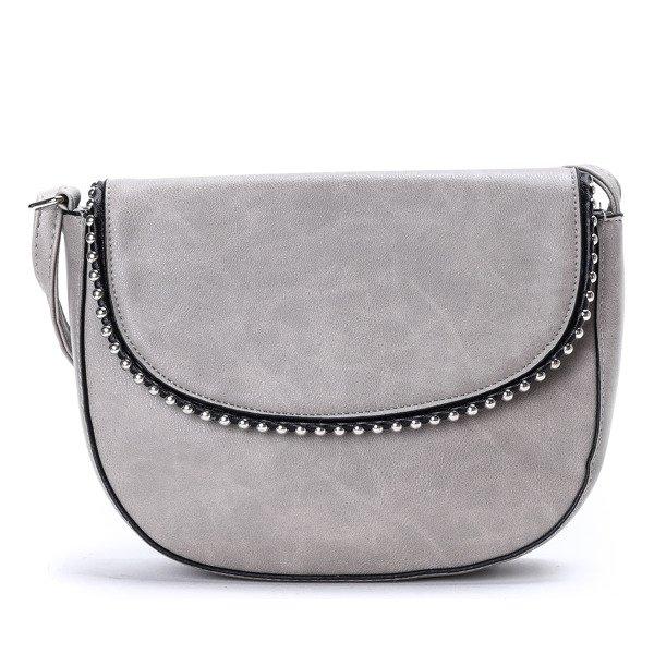 e8eb801e3c855 Mała szara torebka na ramię - Torebki - Szary | Royalfashion.pl ...