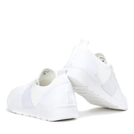 Białe sportowe buty damskie Kaetlyn - Obuwie