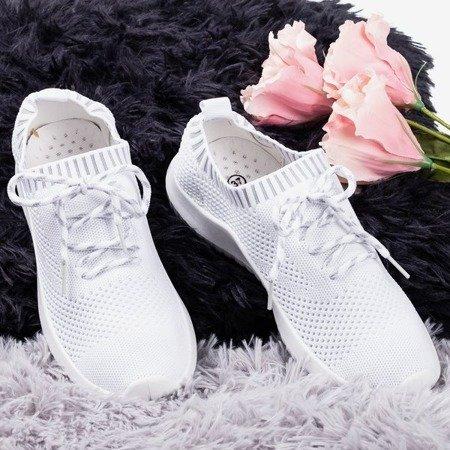 Białe sportowe buty damskie Sethe - Obuwie