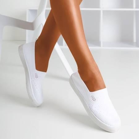 Białe tenisówki typu slip on Tanga - Obuwie