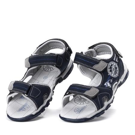 Chłopięce sandały w kolorze granatowym Oliver - Obuwie