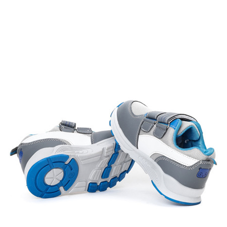 Chłopięce sportowe buty w kolorze szarym Trini - Obuwie
