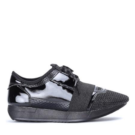 Czarne buty sportowe Musah - Obuwie