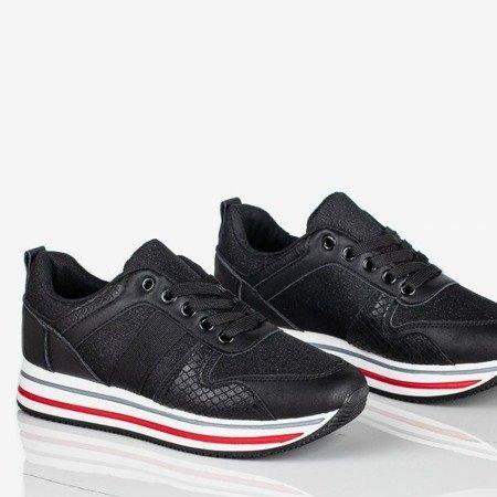 Czarne sportowe buty damskie Free Now - Obuwie