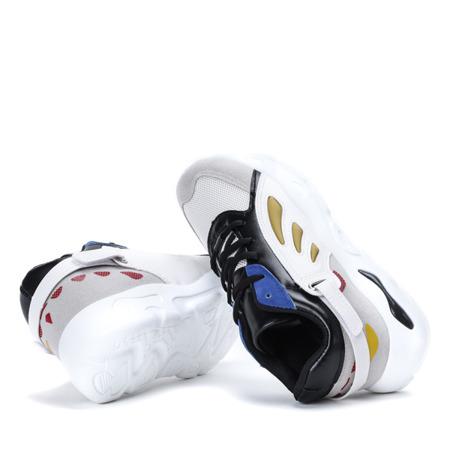 Czarne sportowe buty z kolorowymi wstawkami Kalia - Obuwie