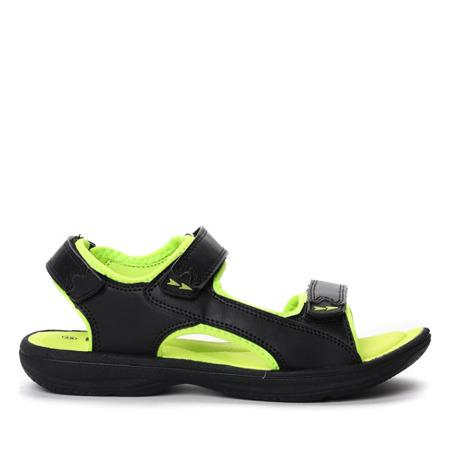 Czarno-żółte sportowe sandały Anaya- Obuwie