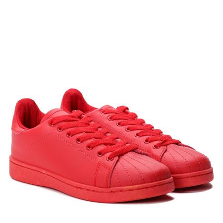 Czerwone tenisówki Magnolia - Obuwie