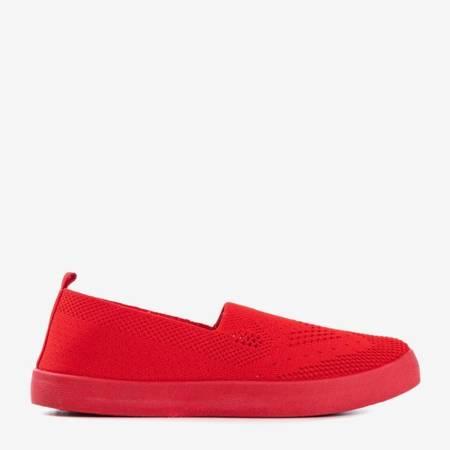Czerwone tenisówki typu slip on Tanga - Obuwie