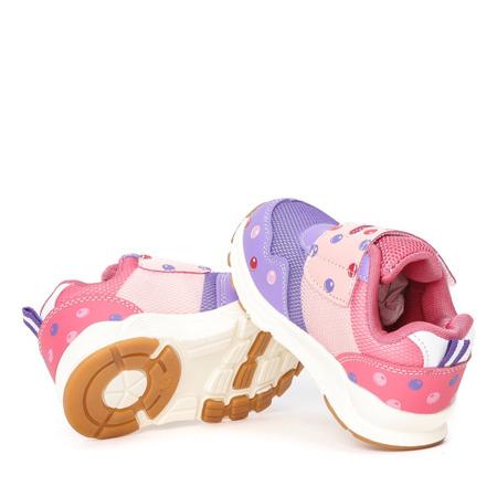 Fioletowe dziewczęce buty  Milisa - Obuwie