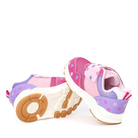 Fuksjowe dziewczęce buty sportowe Monitta - Obuwie