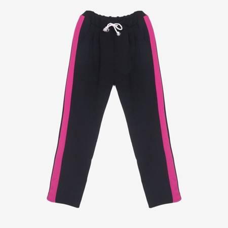 Fuksjowo - czarny komplet dresowy - Odzież