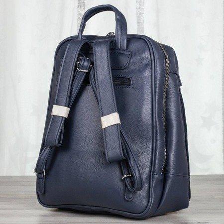 Granatowy plecak damski - Plecaki