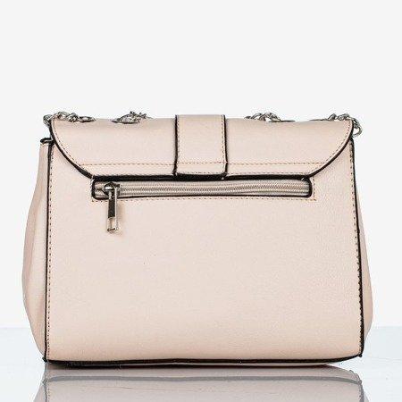Jasnoróżowa mała torebka na ramię - Torebki