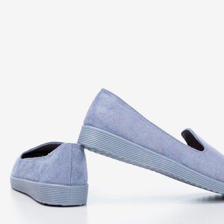 Niebieskie mokasyny Isyda - Obuwie