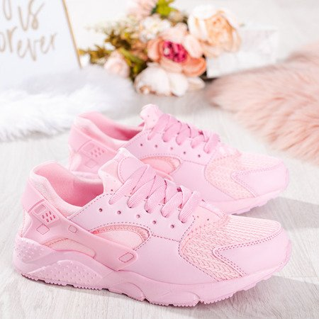Różowe damskie buty sportowe Sossella - Obuwie