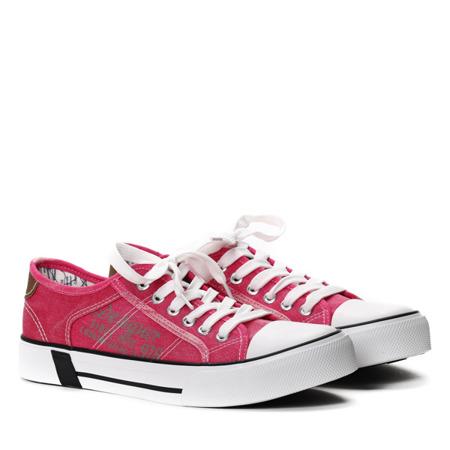 Różowe trampki Saylor- Obuwie