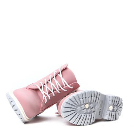 Różowo-białe, nieocieplane trapery Trixie- Obuwie