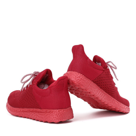 Sportowe buty damskie w kolorze czerwonym Lianna - Obuwie