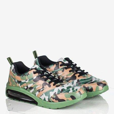 Sportowe buty męskie w moro Joran - Obuwie