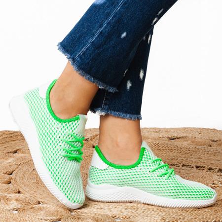 Sportowe buty w kolorze zielonym Kaylee - Obuwie