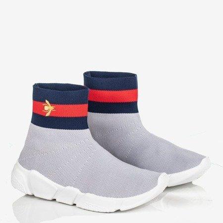 Czerwone buty sportowe damskie Musca Obuwie