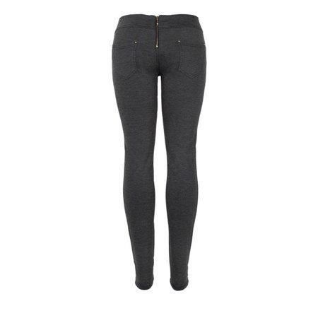 Szare spodnie tregginsy - Spodnie