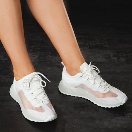 Sznurowane buty sportowe w kolorze białym Farssa - Obuwie