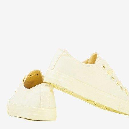 Żółte trampki damskie Lysh - Obuwie