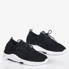 Czarne buty sportowe damskie Apolsie - Obuwie
